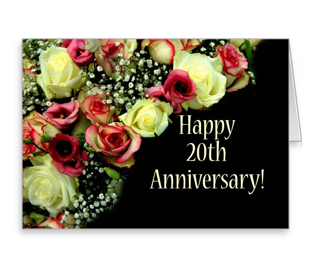 20th wedding anniversary flower 20th year marriage wedding anniversary wishes images 1061