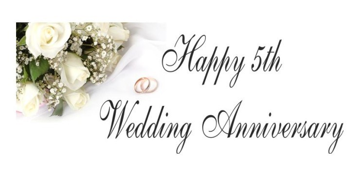 5th Year Wedding Anniversary Wishes Quotes Images Wallpaper Messages